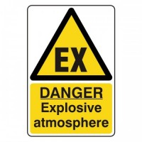 Danger Explosive atmosphere