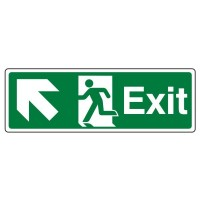 Exit, Arrow up left