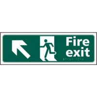 Fire exit (arrow up left)