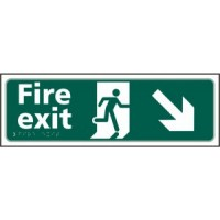 Fire exit (arrow down right)