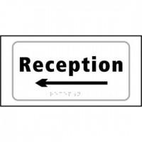 Reception (arrow left)
