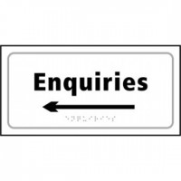 Enquiries (arrow left)