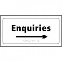 Enquiries (arrow right)
