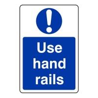 Use hand rail