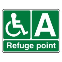 Refuge point (with letter)