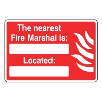 The nearest fire marshals is