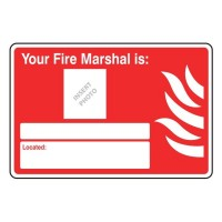 Your fire marshal is