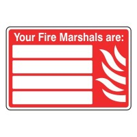 Your fire marshals are