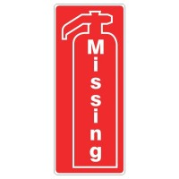 Missing Fire extinguisher