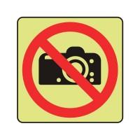 No cameras logo