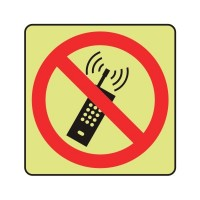 Do not use mobile phones logo