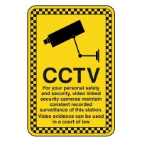 Security Notice CCTV Personal safety