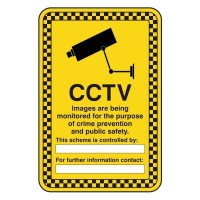 Security Notice CCTV Monitoring