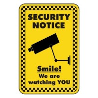 Security Notice Smile we are watching you