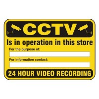 CCTV Is in operation in the store