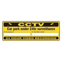 CCTV car park under 24 hours surveillance