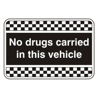 No drugs left in this vehicle overnight