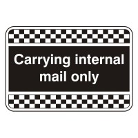 Carrying internal mail only