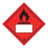 Flammable 3 UN Substance Numbering