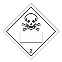 Toxic 2 UN Substance Numbering