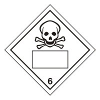 Toxic 6 UN Substance Numbering