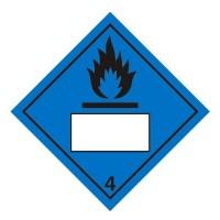 Dangerous When Wet 4 UN Substance Numbering