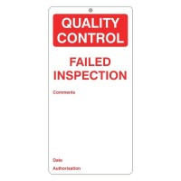 Failed Inspection