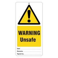 Warning Unsafe