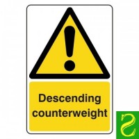 Descending counterweight
