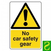 No car safety gear