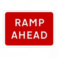 Ramp ahead