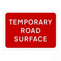 Temporary road surface