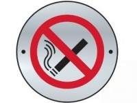 No smoking disc