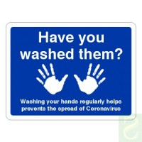 Have you washed them