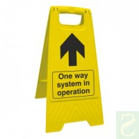 One way system in operation