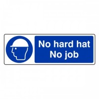 No hard hat no job