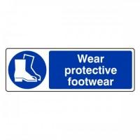 Wear protective footwear