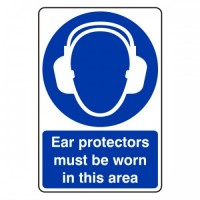 Ear protectors must be worn in this area