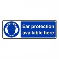 Ear protection available here