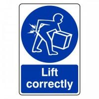 Lift correctly