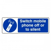 Switch mobile phone off or to silent
