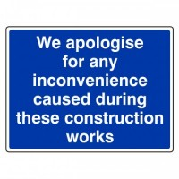 We apologise for any inconvenience caused during the construction works
