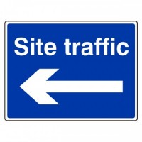 Site traffic (arrow left)