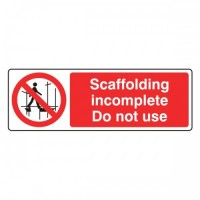 Scaffolding incomplete do not use