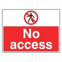 No access